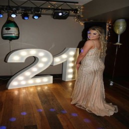 Light up Letters 122