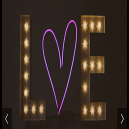Light up Letters 14