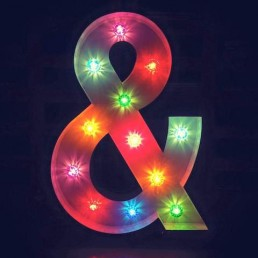 Light up Letters 40