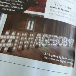 Light up Letters 47