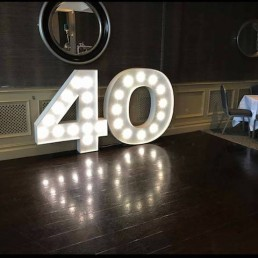 Light up Letters 55